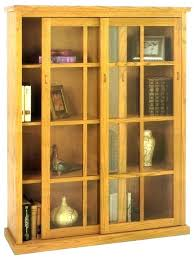 bookcases with sliding glass doors bookcase at costco door antique bookcases with sliding glass doors