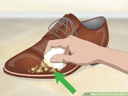 image titled maintain leather shoes step 1