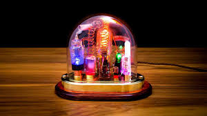 steampunk lighting. Steampunk Lighting. Lamp Art Sculpture With Glass Dome Display - Part 1 Lighting