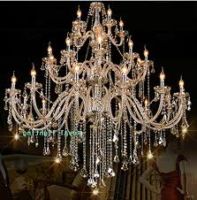 huge crystal chandeliers intended for most cur 30 arms luxury chandelier villa hotel large crystal chandelier