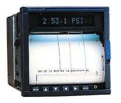 Electronic Chart Recorder Honeywell Dpr100 100 Mm Continuous Pen Chart Recorder 1