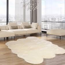 Faux sheepskin rugs Throw Faux Fur Rugs Popsugar Faux Fur Rugs Popsugar Home