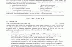 oil field resume objective examples - Oilfield Resume