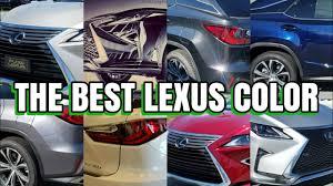 2012 Lexus Color Chart Lexus Rx 350 Which Color Is Best For You What Color Hides Dirt