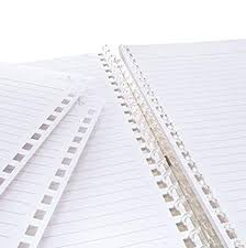 Lihit Lab Twist Ring Notebook Graph Paper Clear 8 3 X 6 1 Inches
