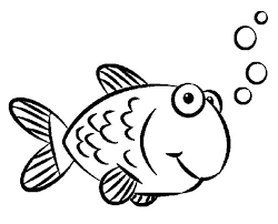Small Picture Goldfish Coloring Pages Kids Coloring Pages Pinterest Goldfish