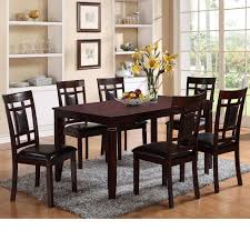 counter height dining room table sets best of crown mark paige 7 piece table and chair