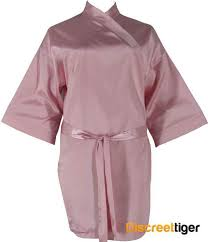 plus size silk robe satin robe three quarter length silk kimono bridal party gown plus