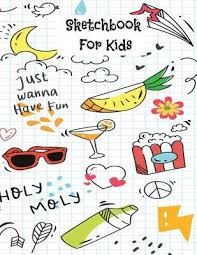 Sketchbook For Kids Graph Paper Sketch Book For Drawing