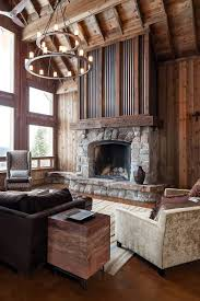 Rustic Design Fargo Corrugated Steel Fireplace For A Rustic Industrial Feel