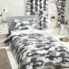details about grey army camouflage uk single us twin unfilled duvet cover pillowcase set