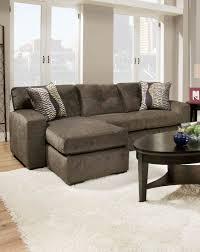 american hematite sofa in gray
