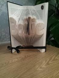 lizthomas30 on twitter art recycle folded foldedbook present poppy name birdcage vine pretty book gift handmade t co pcjunumgyf