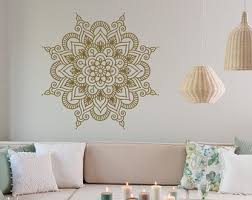 Small Picture Mandala Wall Decal Sticker Mandala Vinyl Wall Decals Yoga