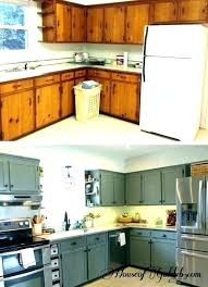 kitchen cabinets painting cabinet before and after ideas image painted refinishing marvelous c diy repaint
