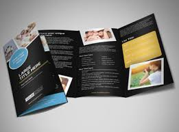 tri fold maker online brochure maker mycreativeshop