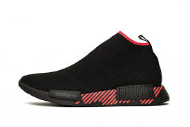 Nmd R2 Size Chart Adidas Originals Nmd Cs1 Primeknit Core Black Shock Red