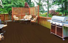 Deck Stain Colors For Blue Houses