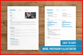 Two Page Resume Template Apa Example