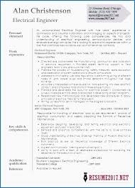 Electrical Engineering Resume Examples Interesting Sample R Sum For Sales Assistant Job Template Free Electrical