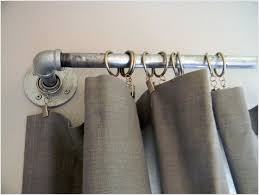 best 25 rustic curtain rods ideas on shower for plan 2