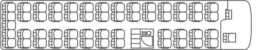 Coach Bus Seating Chart 53 Seat Luxury Coach Stewarts Coaches