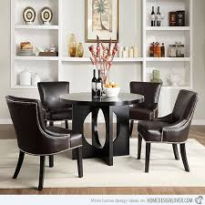 5 dining room sets with leather chairs other magnificent dining room sets leather chairs in other