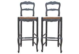 french country bar stools.  Stools Vintage French Country Bar Stools By Habersham In H
