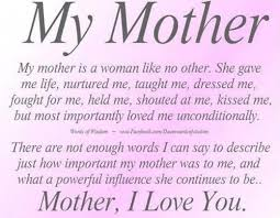An essay on my mother in marathi language