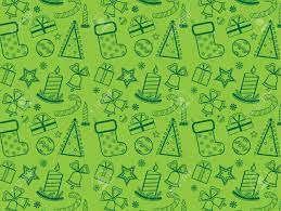 Green Christmas Wallpaper With New Year ...