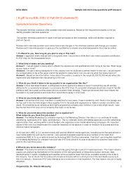 Sample Interview Questions And Answers example interview questions and answers Ninjaturtletechrepairsco 1