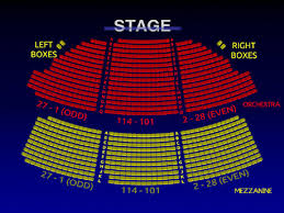The Music Box Theater Seating Chart The Music Box Theater Music Box Theatre Mezzanine View