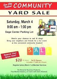 Top Garage Sale Pricing Yard Template Free Moving Flyer What Does