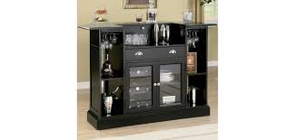 contemporary bar furniture for the home. 100175 Coaster Furniture Inwood Contemporary Black Home Bar Unit For The N