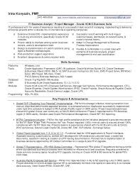 oracle apps project manager resume oracle apps resume for project manager  delivery manager