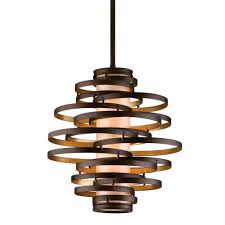 top 70 unbeatable special hanging corbett vertigo pendant lamps design with stacked rounded metal bulb lamp