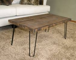 wooden coffee tables. modern coffee table, hairpin leg wooden industrial table tables