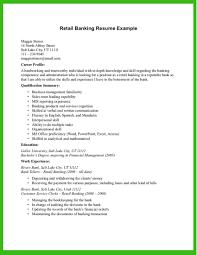 Example Of Retail Resume