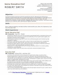 Leadership Qualities Resume Executive Chef Resume Samples Qwikresume