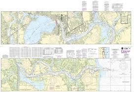 Amazon Com 11491 St Johns River Atlantic Ocean To