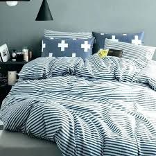 bedding sets impressive striped duvet cover blue and white king bed linen twin ikea size dimensions