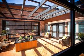 view larger image family room glass garage door