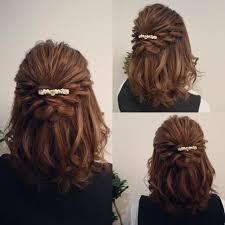 結婚式のお呼ばれヘアアレンジ長さ別おすすめスタイル集 Hair