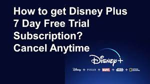 How to get Disney Plus 7 Day Free Trial Subscription? Cancel Anytime -  YouTube