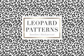 Leopard Pattern Magnificent Leopard Patterns Graphic Patterns Creative Market