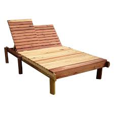 wood chaise lounge. Chaise Lounges Rustic Wooden Outdoor Double Lounge Wood Intended For Size 1600 X N