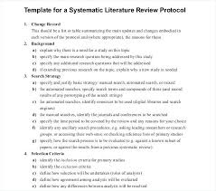 Literature Review Table Template Example Literature Review Outline In Template Of A Thaimail Co