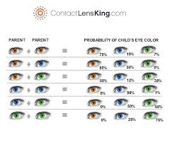 Eye Genetics Chart What Determines Eye Color Is It Genetics