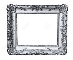 silver antique picture frames. Vintage Silver Frame, Isolated On White Stock Photo - 18552030 Antique Picture Frames U