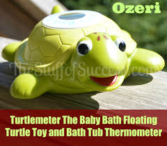 Turtlemeter The Baby Bath Floating Turtle Toy and Bath Tub ...
